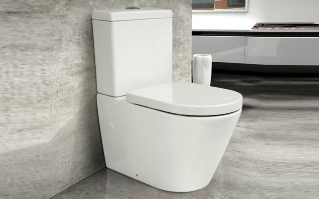 Daytona Wf Toilet Suite With Slim Soft Close Seat Paco