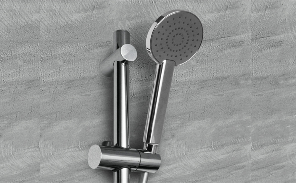 Nuovaosmo Saturnia Single Function Hand Shower on 800mm Rail ...
