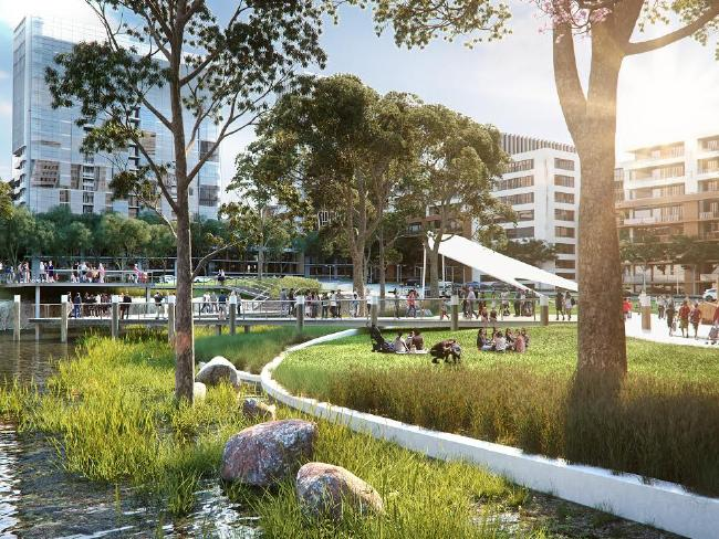 The melrose park development paco jaanson for Kitchen and bath design melrose park